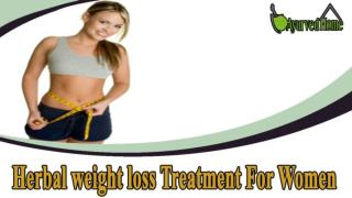 Herbal weight loss Treatment For Women