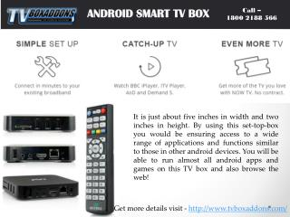 Android Smart tv Box best buy online at tvboxaddons.com