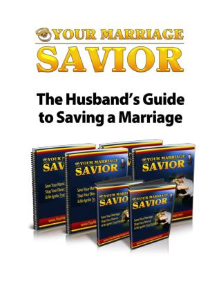 What Can Save My Marriage - Bring Back the Love