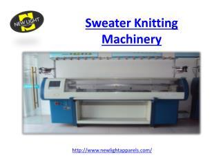 Sweater Knitting Machinery
