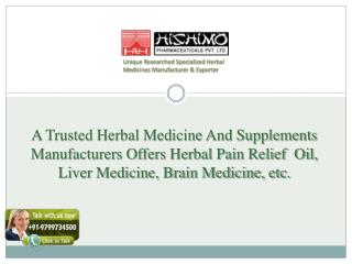Herbal Brain Tonic Manufacturers