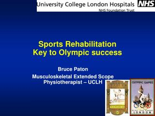 Sports Rehabilitation  Key to Olympic success
