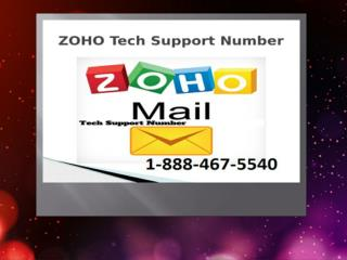 zoho tech support phone number