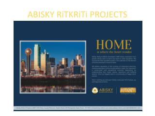 Flats for sale in Mundhwa and  Wagholi, Pune- Abisky Ritkriti Projects