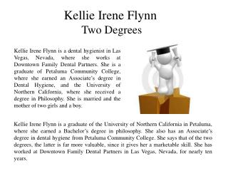 Kellie Irene Flynn Two Degrees
