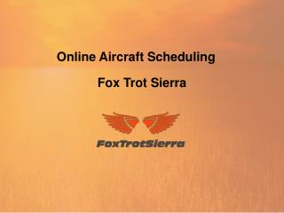 Online Aircraft Scheduling