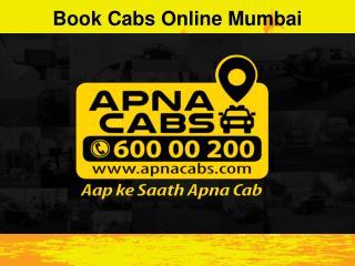 Book Cabs Online Mumbai