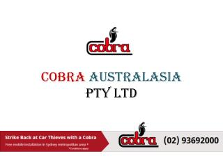 Cobra Australasia-Pioneering High Security Solutions for Perfect Car Safety