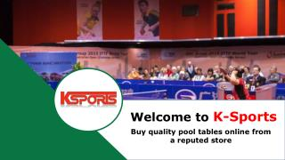 Pool Tables for Sale