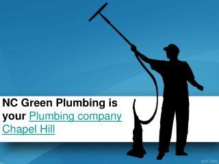 Plumbing Company Chapel Hill
