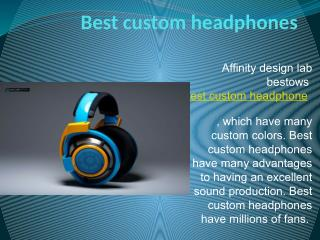 Headphone factory