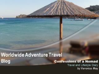 Worldwide Adventure Travel Blog