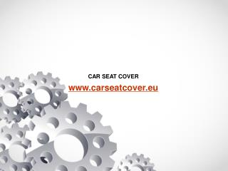 ALCANTARA® Car Seat Cover