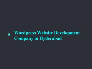 WordPress Website Development Services � Saga Biz Solutions