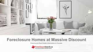 Foreclosure Home Listing