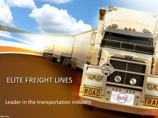 Best Ocean freight companies in Canada