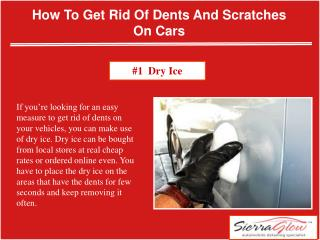 How to get rid of dents and scratches on carscar waxing services, car paint protection, car grooming
