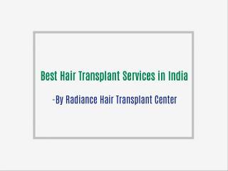 Best Hair Transplant Expert Dr. Krishna Priya | Radiance