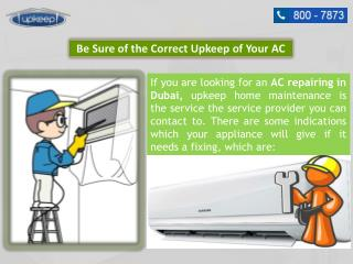 Advantages of Experienced AC Repairing in Dubai