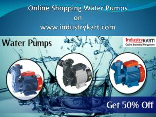 Buy Water Pumps Online