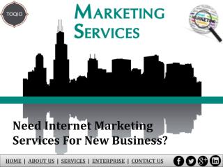 Need Internet Marketing Services for New Business in Las Vegas?
