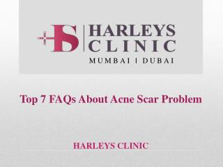 Top 7 FAQs About Acne Scar Problem