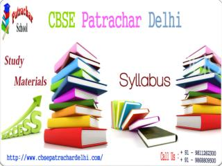 Make Your Choice of CBSE Patrachar Courses Now Let's Accomplish Class 10th & 12th with CBSE Patrachar