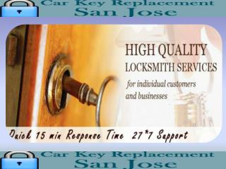 24 Hour Locksmith San Jose CA