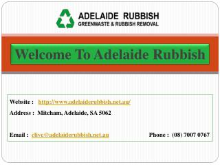 Adelaide Rubbish Removal