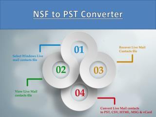 NSF to PST Converter