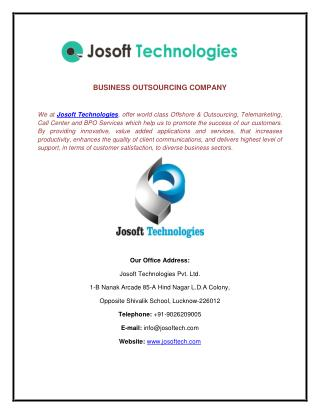 Bank form filling work- Josoft Technolgoies