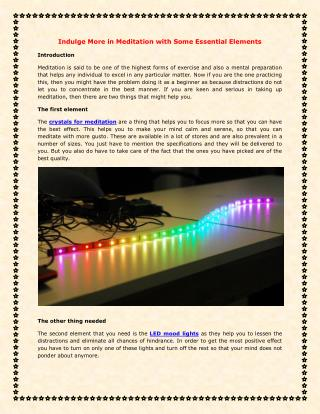 LED Display Lighting