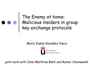 The Enemy at home: Malicious insiders in group key exchange protocols