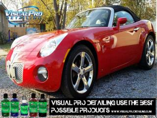 Visual Pro Detailing use the best products for you car care.