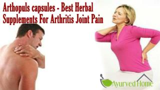 Arthopuls capsules - Best Herbal Supplements For Arthritis Joint Pain