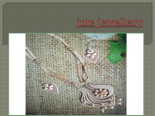 jute jewellery online