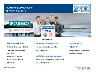 Epic Research Daily Forex Report 29 Feb 2016