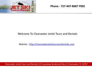 Jet ski rentals clearwater beach