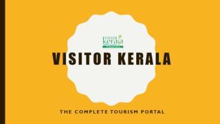 Visitorkerala Tourism Portal