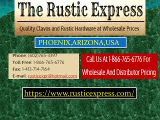 Rustic Door Clavos