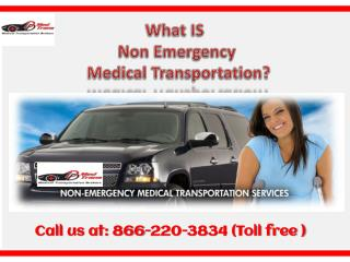 Introduction to Non-Emergency Medical Transportation