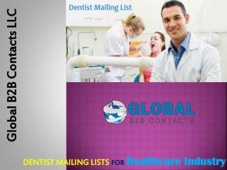 Dentist email lists