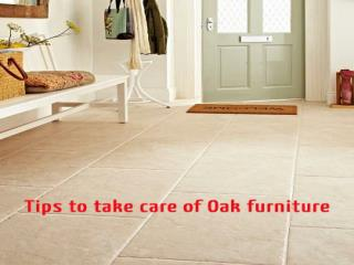 Buy Oak furniture Devon