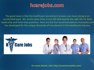 Healthcare Recruitment