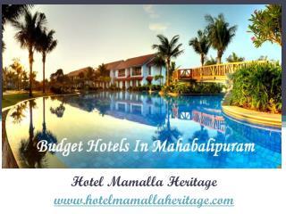 Budget Hotels in mahabalipuram