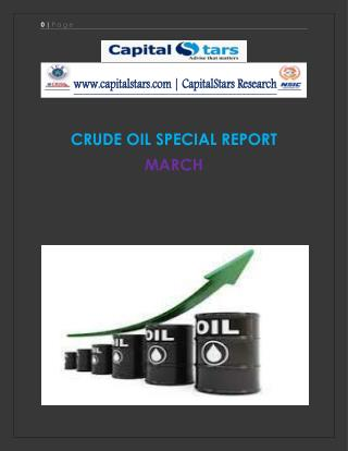 SPECIAL REPORT ON COMMODITY