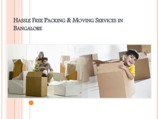How to Choose Packers and Movers for a Safety Relocation in Bangalore