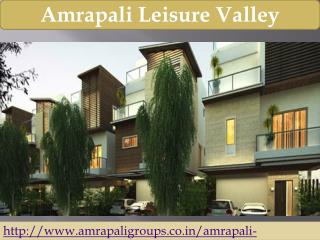 Amrapali Leisure Valley In Greater Noida West