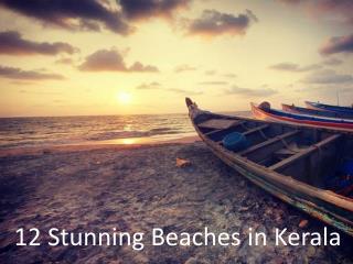 Kerala Beaches : Prime Attractions of Kerala Tourism