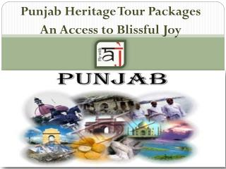 Punjab Heritage Tour Packages- An Access to Blissful Joy